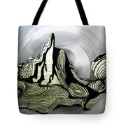 Old Drawing Called Serenity  Tote Bag by Colette V Hera  Guggenheim