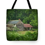 Old Home Place Tote Bag by Douglas Barnett