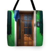 Old Italian Door Tote Bag by Joana Kruse