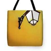 Old Street Lamp Tote Bag by Carlos Caetano