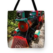 Old Time Train Tote Bag by Garry Gay