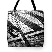 Old Tracks Made New Tote Bag by Hakon Soreide
