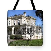 Old Victorian Camron-Stanford House . Oakland California . 7D13445 Tote Bag by Wingsdomain Art and Photography