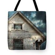 Old Victorian House Detail Tote Bag by Jill Battaglia