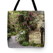 Old Water Pump, Ram House Garden, Co Tote Bag by The Irish Image Collection