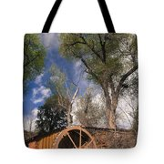 Old West Water Mill 1 Tote Bag by Darcy Michaelchuk