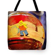 Old World Christmas Tote Bag by Christine Till