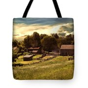Olden Times Tote Bag by Lourry Legarde