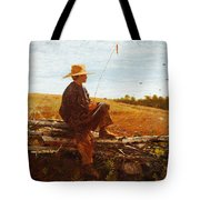 On Guard Tote Bag by Wisnlow Homer