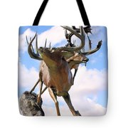 On Top Of The World Tote Bag by Kristin Elmquist