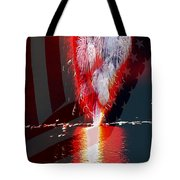 One Big Bang Tote Bag by Cheryl Young