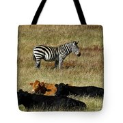 One Is Not Like The Others Tote Bag by Methune Hively