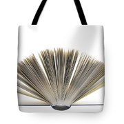 Open Book Tote Bag by Frank Tschakert