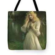 Ophelia Tote Bag by Pascal Adolphe Jean Dagnan Bouveret