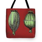 Opium Harvesting Tote Bag by Science Source