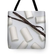 Organic Marshmallows With Vanilla Tote Bag by Joana Kruse