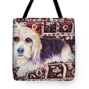 Oriental Toy Tote Bag by Pat Saunders-White