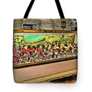 Osu Town Tote Bag by Joan  Minchak