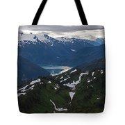Over Alaska Tote Bag by Mike Reid