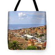 Over The Roofs Of Sanremo Tote Bag by Joana Kruse