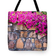 Over The Wall Tote Bag by Jan Amiss Photography