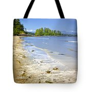 Pacific Ocean Coast On Vancouver Island Tote Bag by Elena Elisseeva