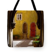 Palace Arch Tote Bag by Carlos Caetano