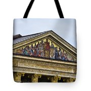 Palace Of Art - Heros Square - Budapest Tote Bag by Jon Berghoff