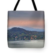 Panorama Lake Maggiore Tote Bag by Joana Kruse