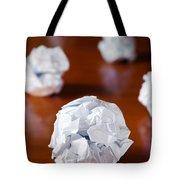 Paper Balls Tote Bag by Carlos Caetano