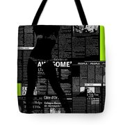 Paper Dance 2 Tote Bag by Naxart Studio