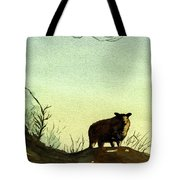 Parable Of The Lost Sheep Tote Bag by Marsha Elliott