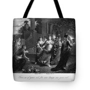 Parable Of Virgins Tote Bag by Granger