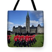 Parliament Building Ottawa Canada  Tote Bag by Garry Gay