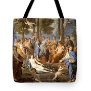 Parnassus, Apollo And The Muses, 1635 Tote Bag by Photo Researchers