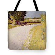 Path In The Country Tote Bag by Charles Angrand