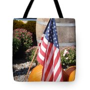 Patriotic Farm Stand Tote Bag by Kimberly Perry
