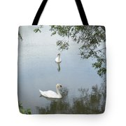 Peaceful Tote Bag by Corinne Elizabeth Cowherd