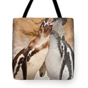Penguin Tote Bag by Tom Gowanlock