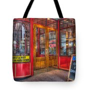 Pershing Square Central Cafe IIi Tote Bag by Clarence Holmes