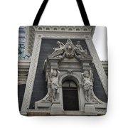 Philadelphia City Hall Window Tote Bag by Bill Cannon