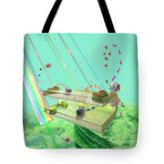 Photosynthesis Tote Bag by Russell Kightley