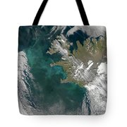 Phytoplankton Bloom In The North Tote Bag by Stocktrek Images