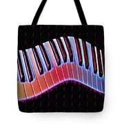 Piano Roll Tote Bag by Bill Cannon