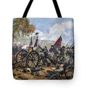Picketts Charge, 1863 Tote Bag by Granger