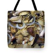 Pickled Mushrooms Tote Bag by Michal Boubin