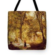 Picnic Tote Bag by Charles James Lewis