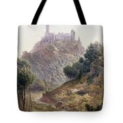 Pina Cintra Summer Home of the King of Portugal Tote Bag by George Leonard Lewis