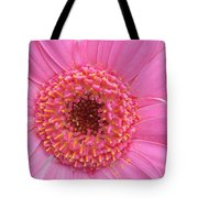 Pink A Boo Tote Bag by Kathy Yates