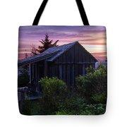 Pink Dawn Tote Bag by Debra and Dave Vanderlaan